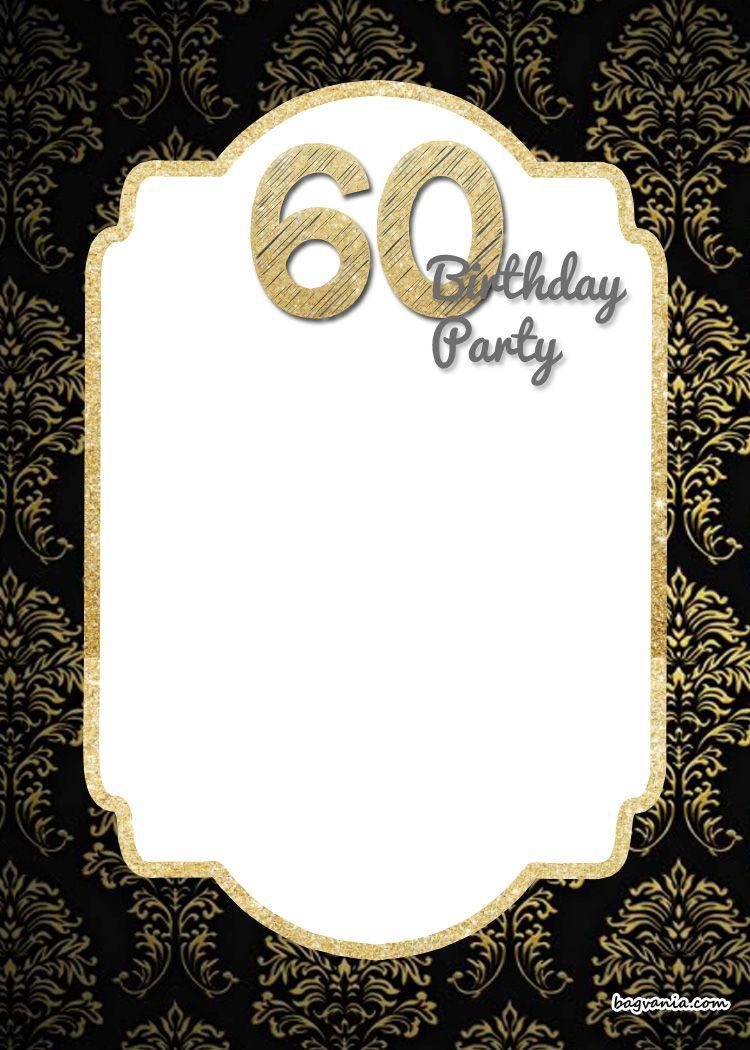 Free Printable 60Th Birthday Invitation   Free Printable Birthday - Free Printable 70Th Birthday Party Invitations