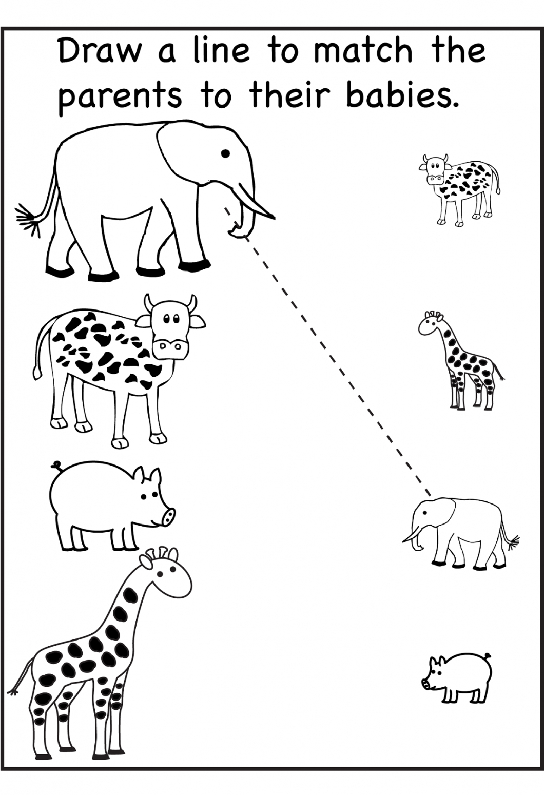 Free Printable Activity Sheets For Kids – With Fun Worksheets - Free Printable Activities For Preschoolers
