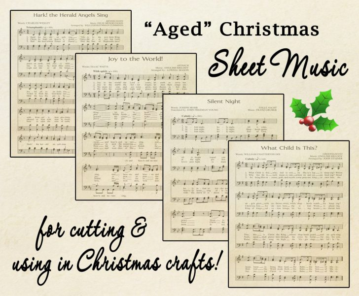 Free Printable Christmas Sheet Music For Piano