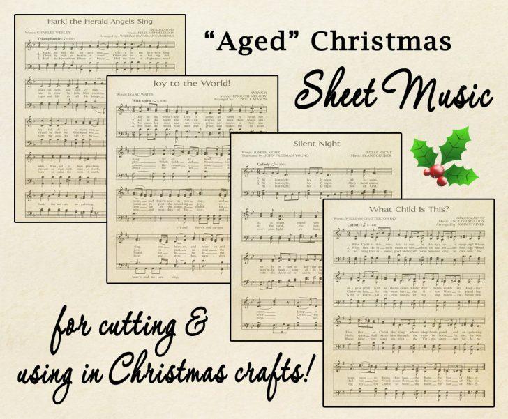 Free Printable Christmas Sheet Music For Piano