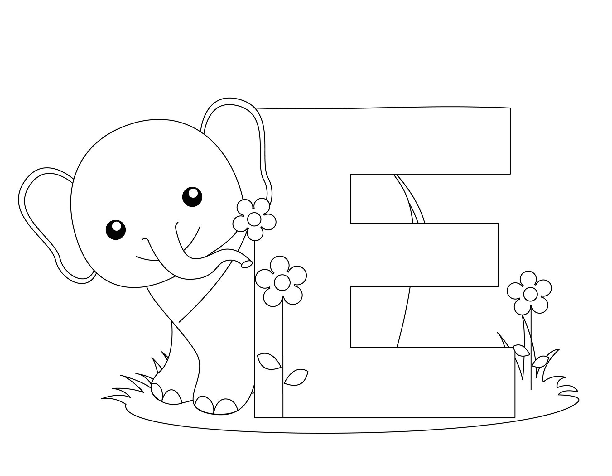 Free Printable Alphabet Coloring Pages For Kids 13 #12602 - Free Printable Preschool Alphabet Coloring Pages