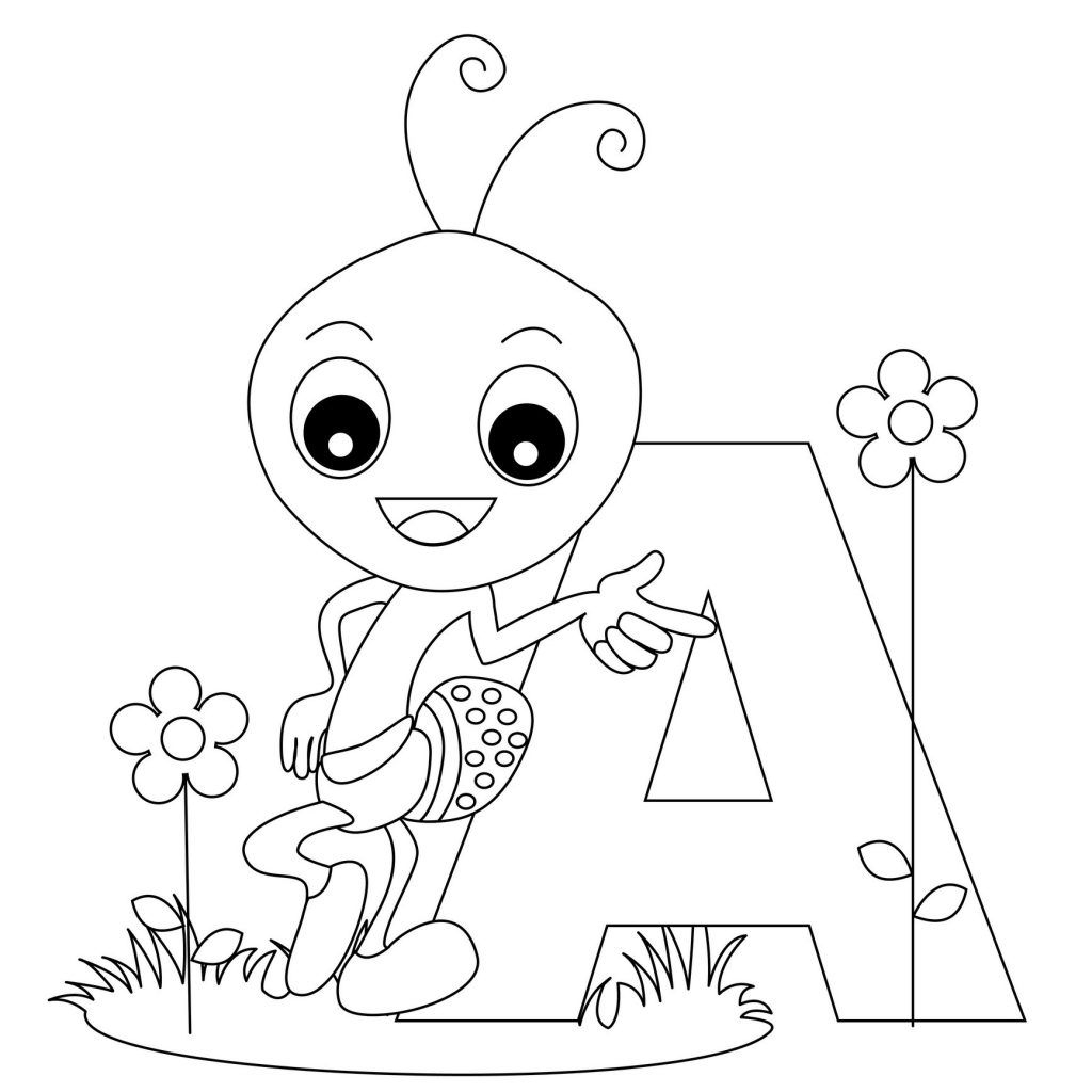 Free Printable Alphabet Coloring Pages For Kids | Too Cute - Free Printable Preschool Alphabet Coloring Pages