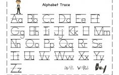 Free Printable Tracing Letters And Numbers Worksheets