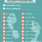 "Free Printable: Am/pm Workout Plan | ""veryvalerie""   Free Printable Gym Workout Plans"