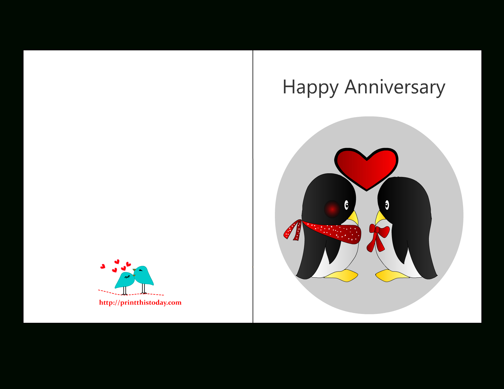 Free Printable Anniversary Cards For Him - Printable Cards - Free Printable Anniversary Cards