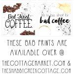 Free Printable Art: The Coffee Collection | Fabulous Diy Home Decor   Free Printable Coffee Bar Signs