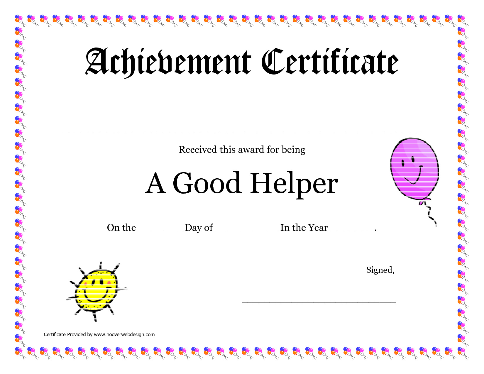 Free Printable Award Certificates For Elementary Students - Free Printable Award Certificates For Elementary Students
