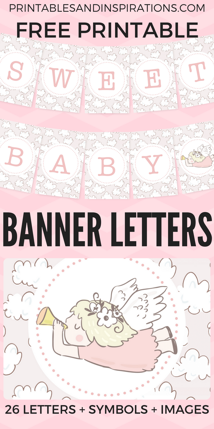 Free Printable Baby Shower Decorations Banner Letters | Blog - Free Printable Baby Shower Banner Letters
