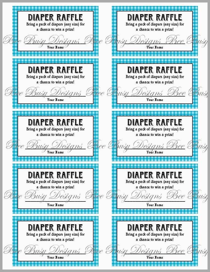 Free Printable Baby Shower Diaper Raffle Tickets Great Diaper Raffle - Free Printable Baby Shower Diaper Raffle Tickets