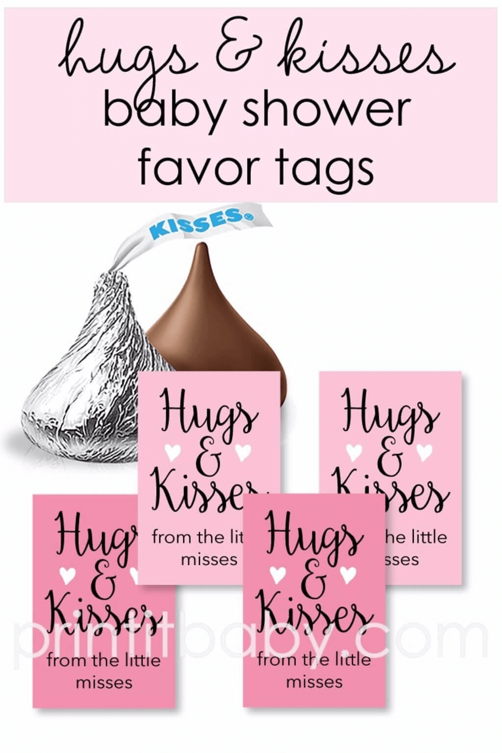 Free Printable Baby Shower Favor Tags For Girls   Baby Shower   Baby - Free Printable Baby Shower Favor Tags