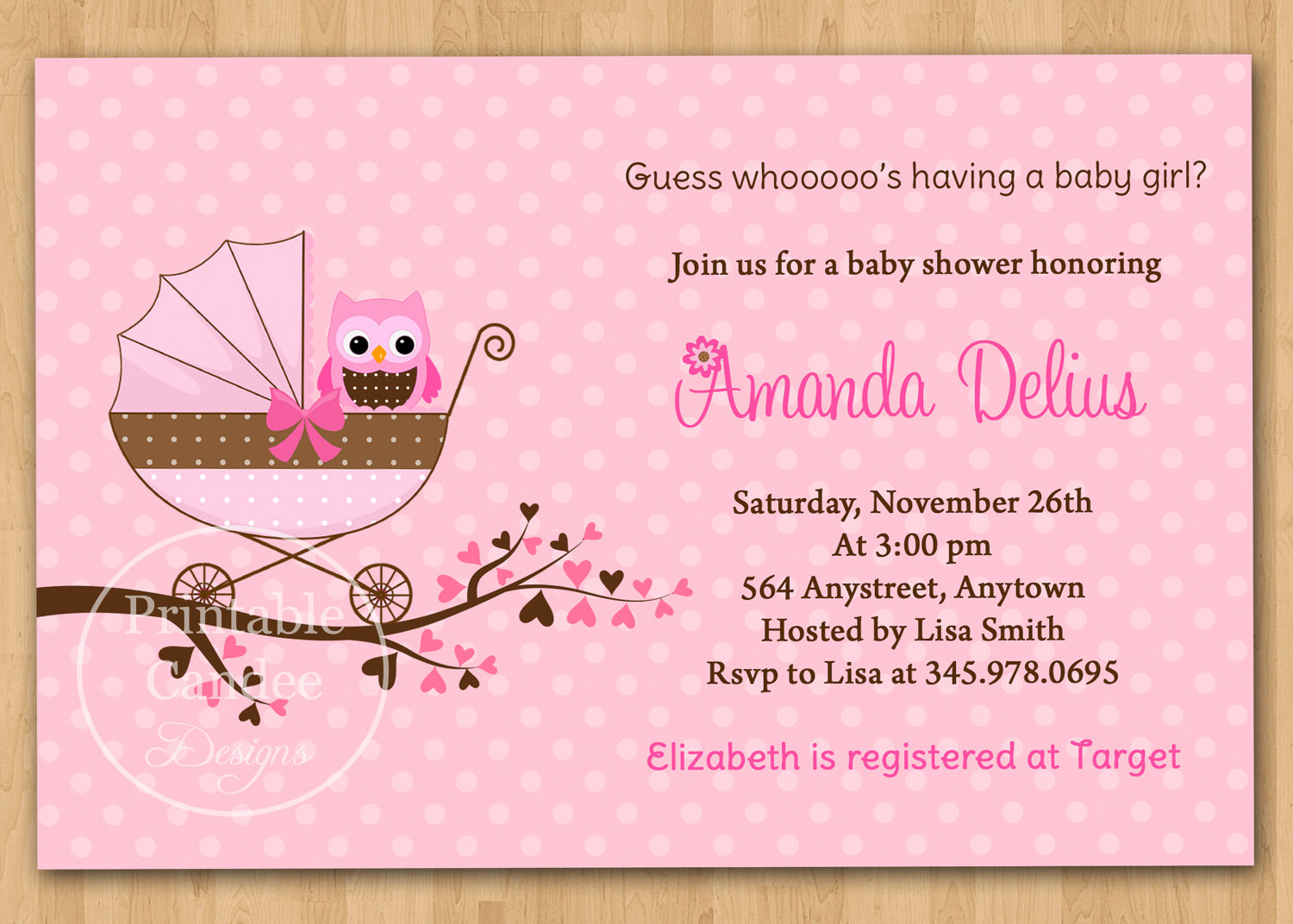 Free Printable Baby Shower Invitations For Girls Free Shower Anti Slip - Free Printable Baby Shower Cards Templates