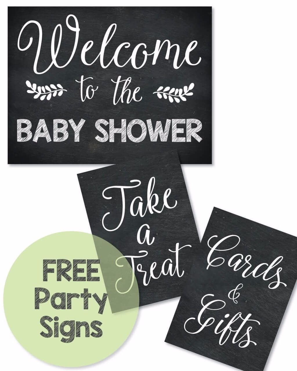 Free Printable Baby Shower Signs - Print It Baby | Baby Shower Ideas - Free Printable Baby Shower Decorations For A Boy