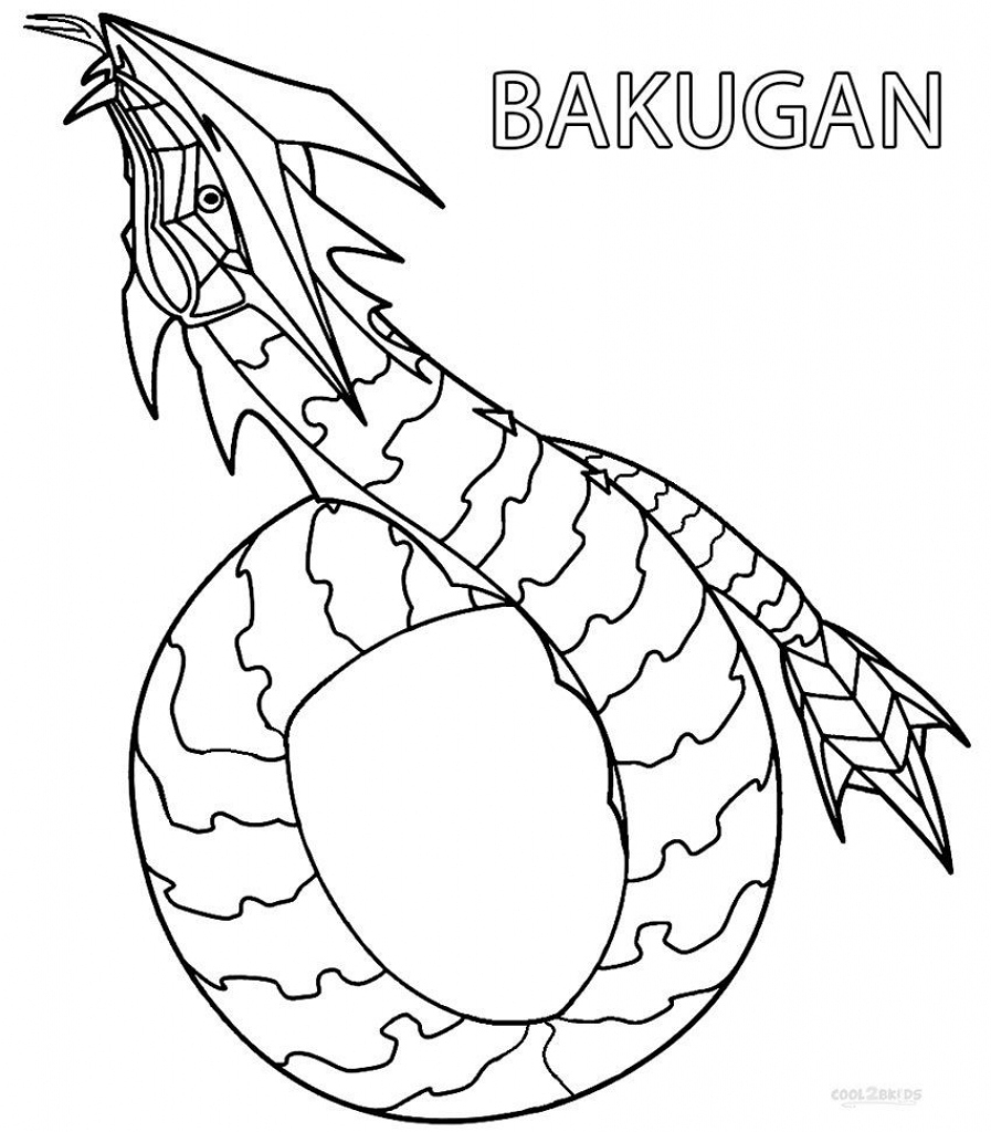 Free Printable Bakugan Coloring Pages For Kids | Printable Bakugan - Printable Bakugan Coloring Pages Free