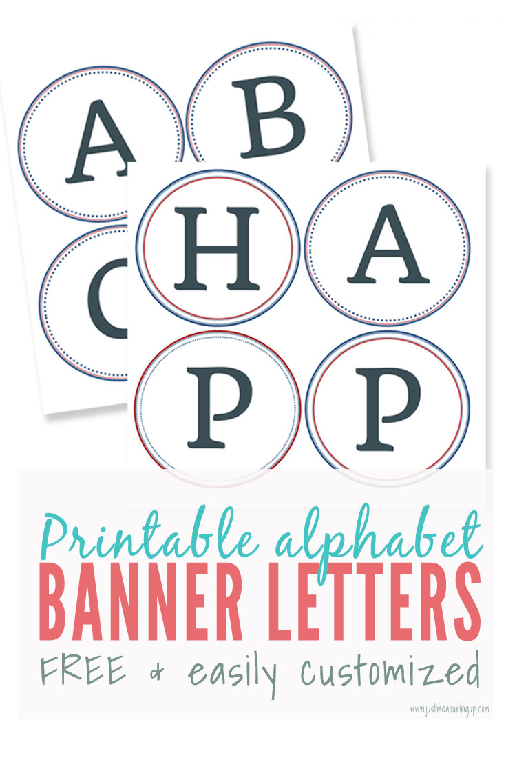 Free Printable Banner Letters | Make Diy Banners And Signs - Free Printable Letters