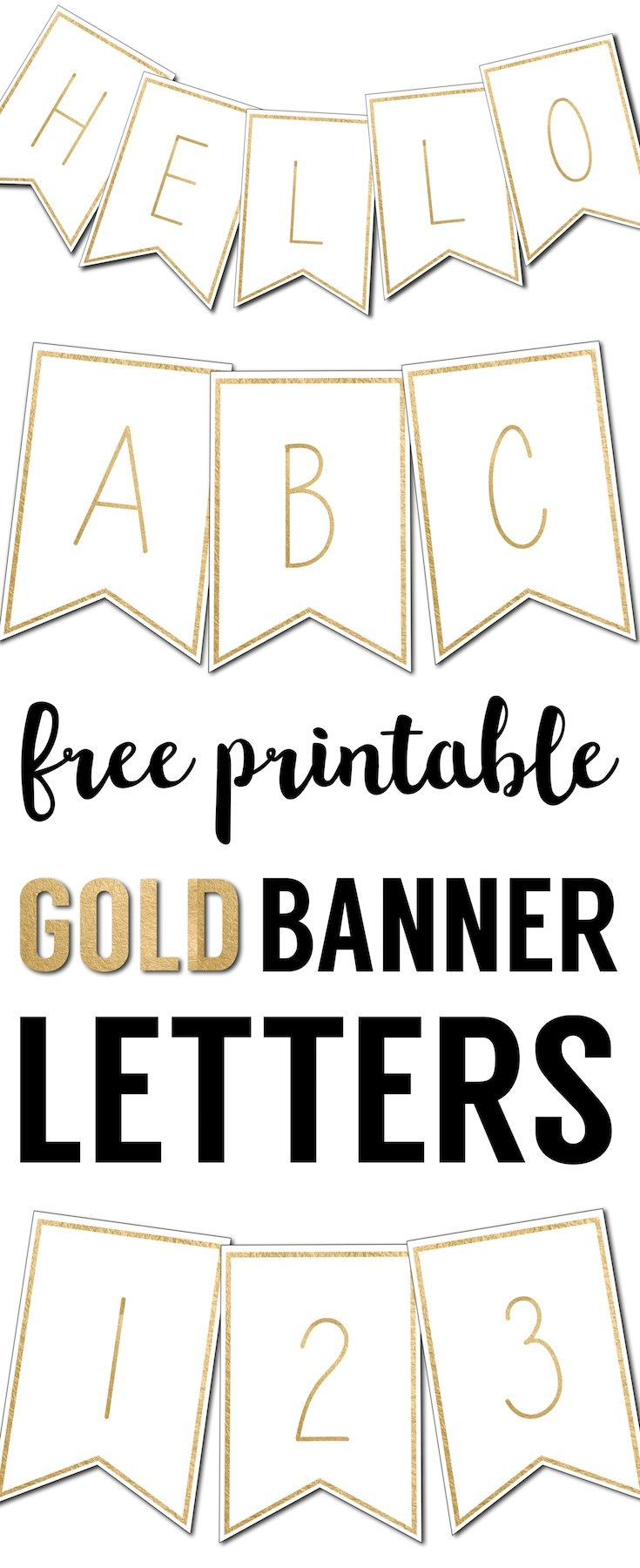 Free Printable Banner Letters Templates | The Wedding Stuff - Free Printable Wedding Banner Letters
