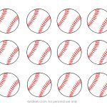 Free Printable Baseball Clip Art Images | Inch Circle Punch Or   Free Printable Baseball Logos