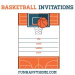 Free Printable Basketball Themed Party Invitations | Best Of   Basketball Invites Free Printable