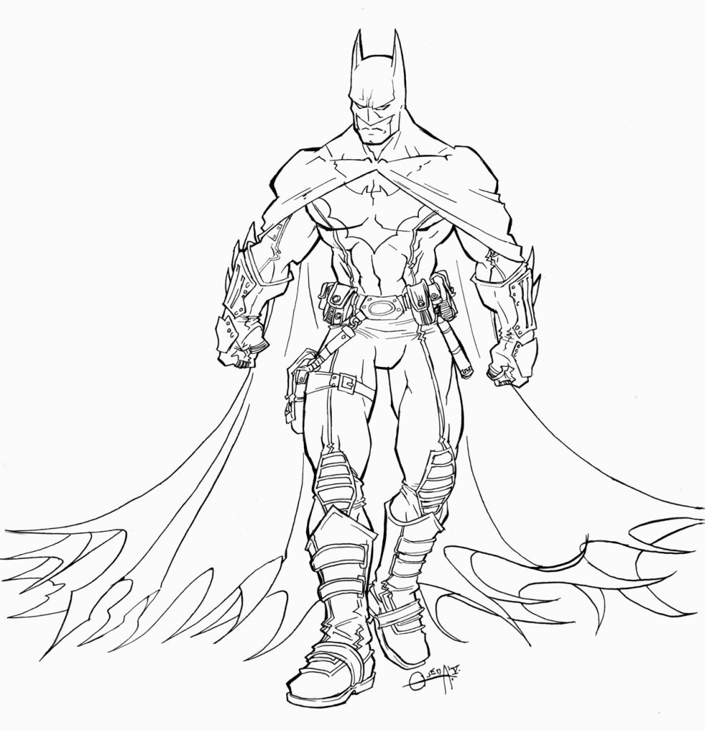Free Printable Batman Coloring Pages For Kids For Batman Coloring - Free Printable Batman Coloring Pages