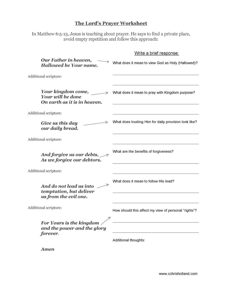 Free Printable Bible Worksheets For Youth As Well Lessons With Study - Free Printable Bible Lessons For Youth