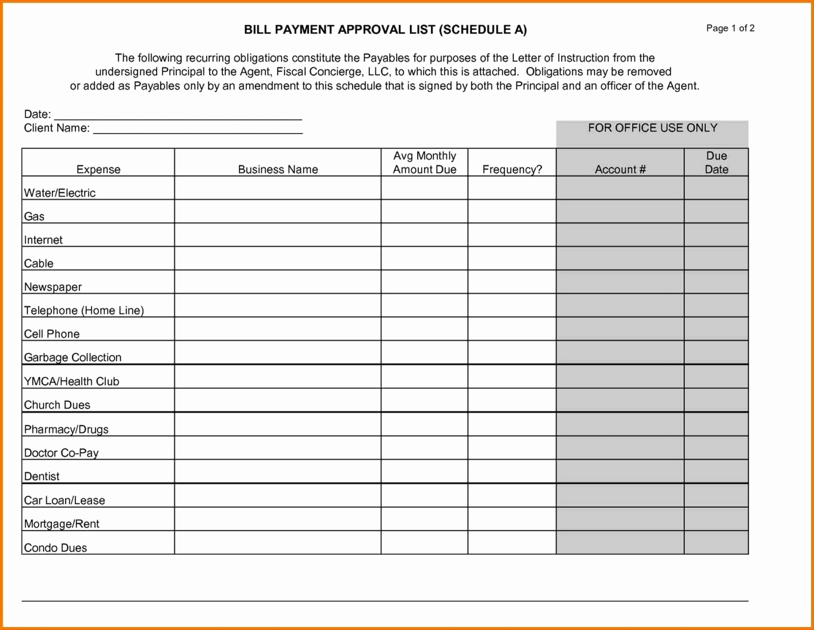 Free Printable Bill Payment Schedule Payments Calendar A Cultivated - Free Printable Bill Payment Schedule