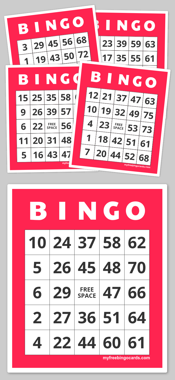 Free Printable Bingo Cards | Family Nights Education | Pinterest - Free Printable Bingo Cards 1 75