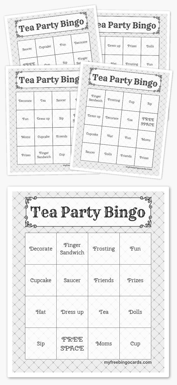 Free Printable Bingo Cards In 2019 | Printables | Pinterest | Harry - Free Printable Bingo Cards