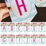 Free Printable Birthday Banner   Six Clever Sisters   Free Printable Birthday Banner