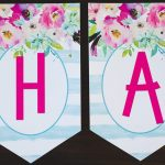 Free Printable Birthday Banner   Six Clever Sisters Regarding Free   Free Printable Birthday Banner