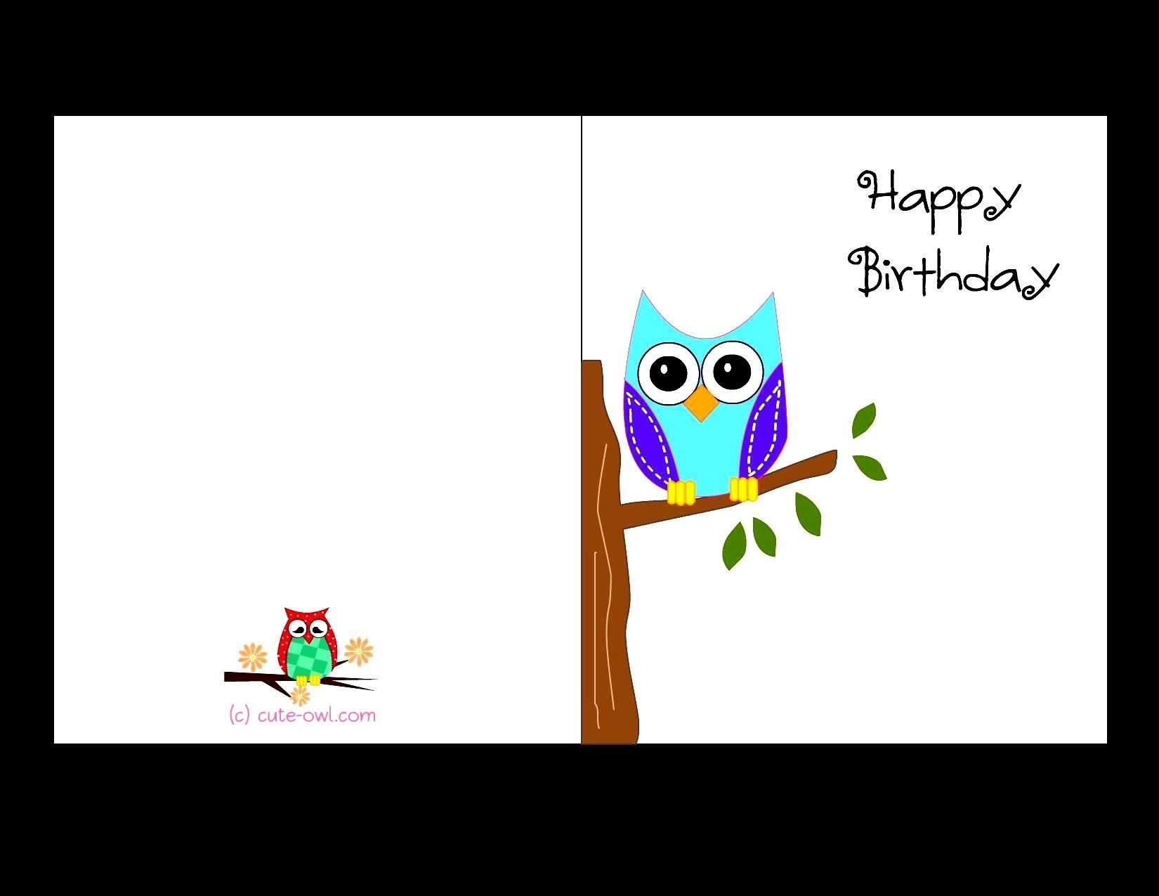 Free Printable Birthday Cards For Adults   World Of Label - Free Printable Greeting Cards No Sign Up
