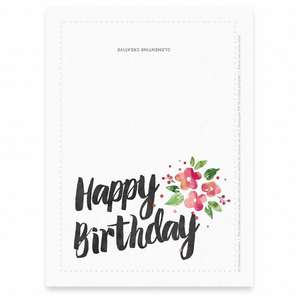 Free Printable Birthday Cards For Her | Free Printable - Free Printable Birthday Cards For Her