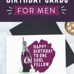 Free Printable Birthday Cards For Him | Stay Cool   Free Printable Birthday Scrolls