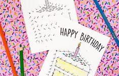 Free Printable Birthday Cards For Kids – Studio Diy – Free Printable Birthday Cards For Kids