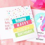 Free Printable Birthday Cards | Skip To My Lou   Free Printable Birthday Cards For Her