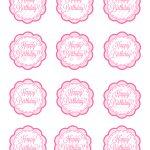 Free Printable Birthday Cupcake Picks   15.4.kaartenstemp.nl •   Free Printable Cupcake Toppers