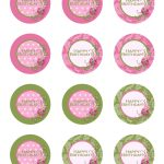 Free Printable Birthday Cupcake Toppers | Crafts | Pinterest   Free Printable Cupcake Toppers