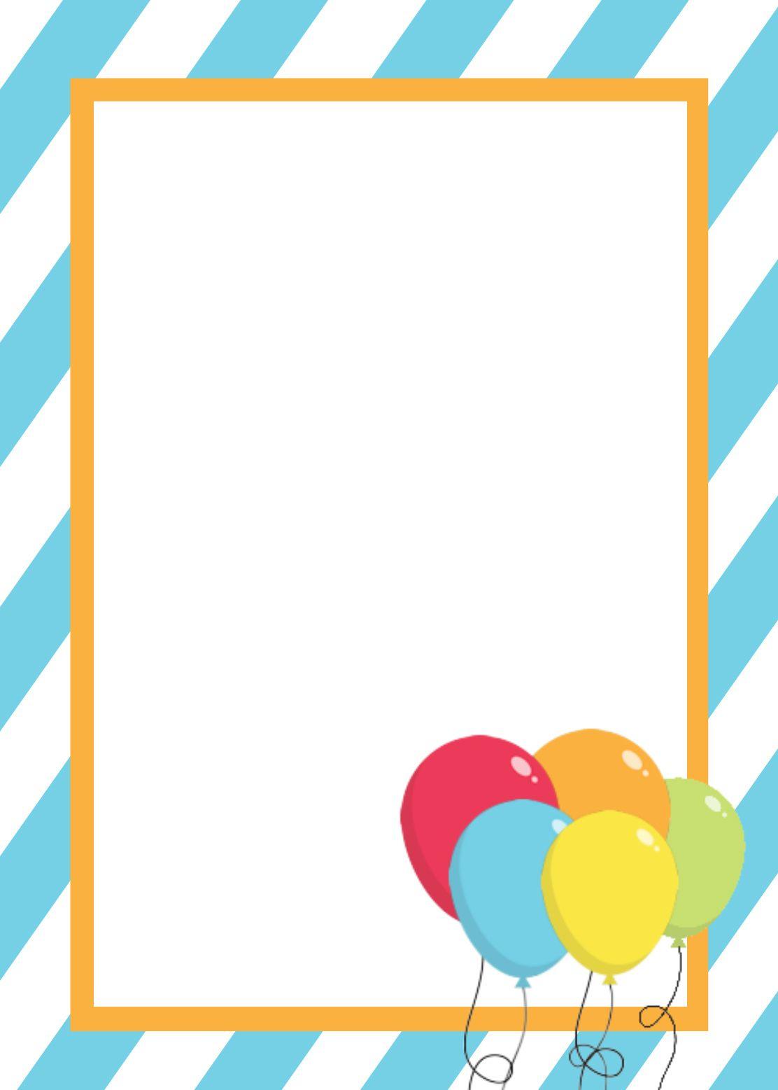 Free Printable Birthday Invitation Templates   Birthday Ideas And - Free Printable Birthday Invitation Cards