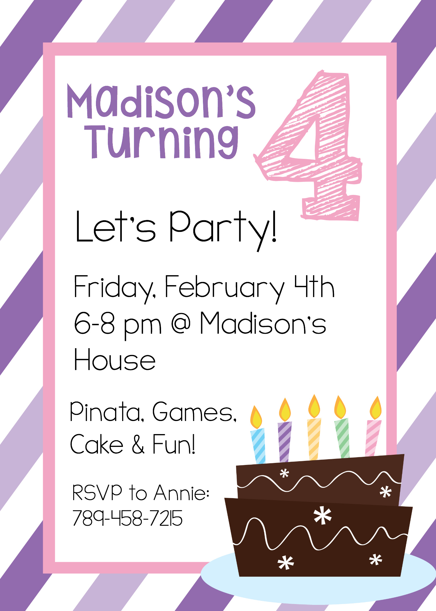 Free Printable Birthday Invitation Templates - Birthday Party Invitations Online Free Printable