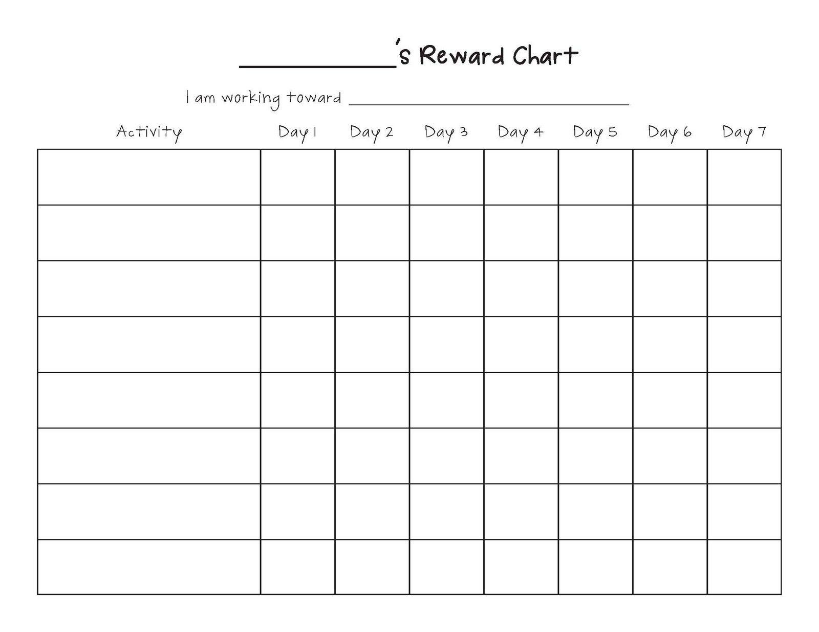Free Printable Blank Charts   Printable Blank Charts Image Search - Free Printable Charts And Lists