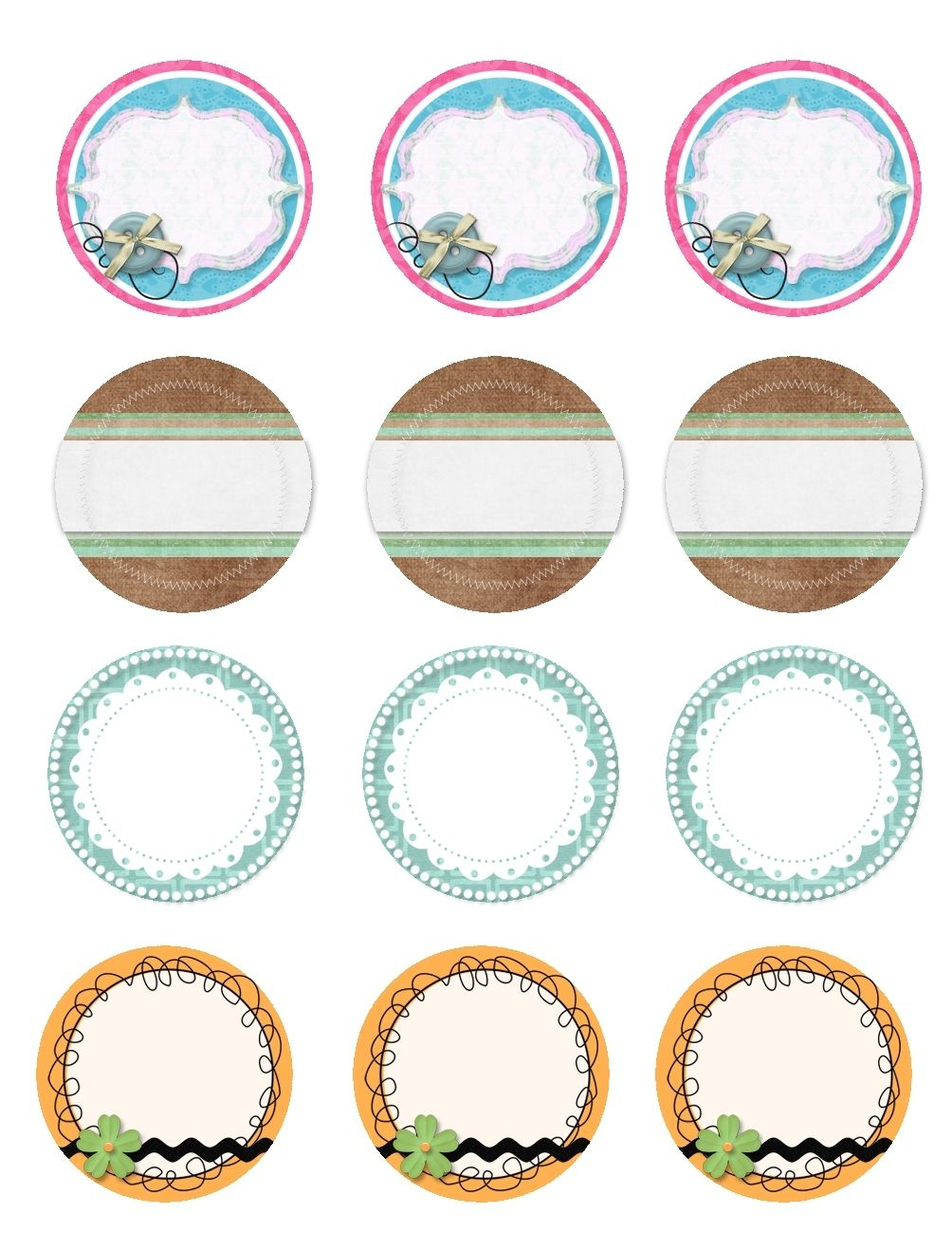 Free Printable Blank Labels For Jars | Flogfolioweekly Inside Free - Free Printable Mason Jar Labels Template