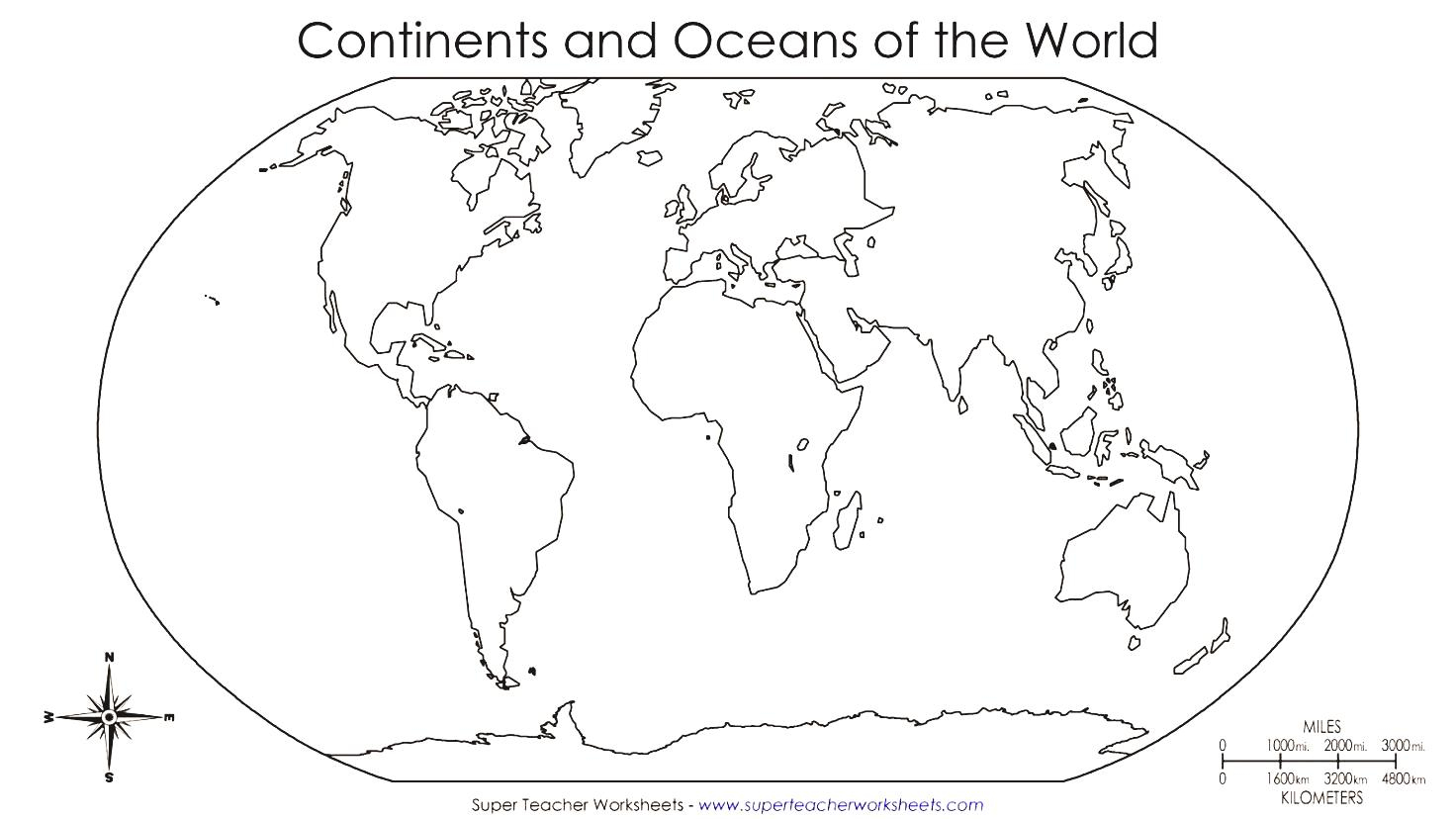 Free Printable Blank World Map Download | Download Them And Try To Solve - Free Printable Blank World Map Download