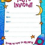 Free Printable Boys Birthday Party Invitations | Birthday Party   Free Printable Personalized Birthday Invitation Cards
