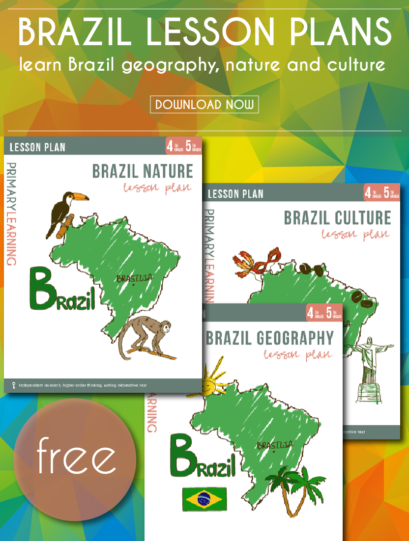 Free Printable Brazil Lesson Plans | Freebies, Deals, & Steals - Free Printable Preschool Teacher Resources