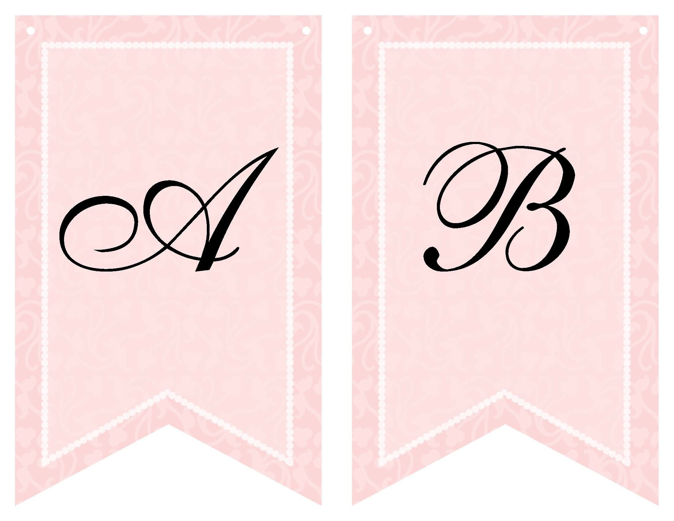 Free Printable Bridal Shower Banner | Vow Renewal | Pinterest - Free Bridal Shower Printable Decorations