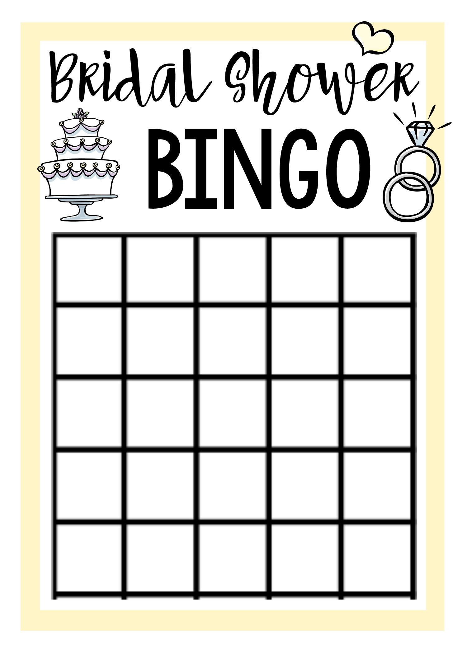Free Printable Bridal Shower Games | Bridal Stuff | Pinterest - Free Printable Bridal Shower Bingo