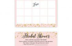 Free Printable Wedding Shower Games