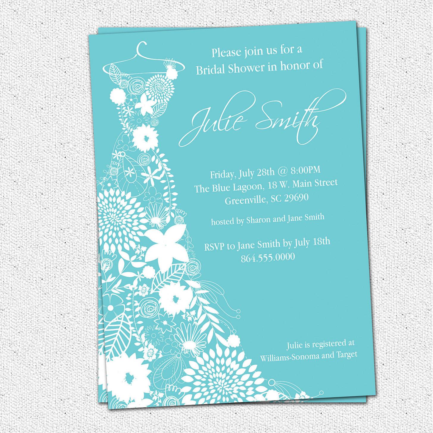 Free Printable Bridal Shower Invitations Template | Best Template - Free Printable Bridal Shower Invitations Templates