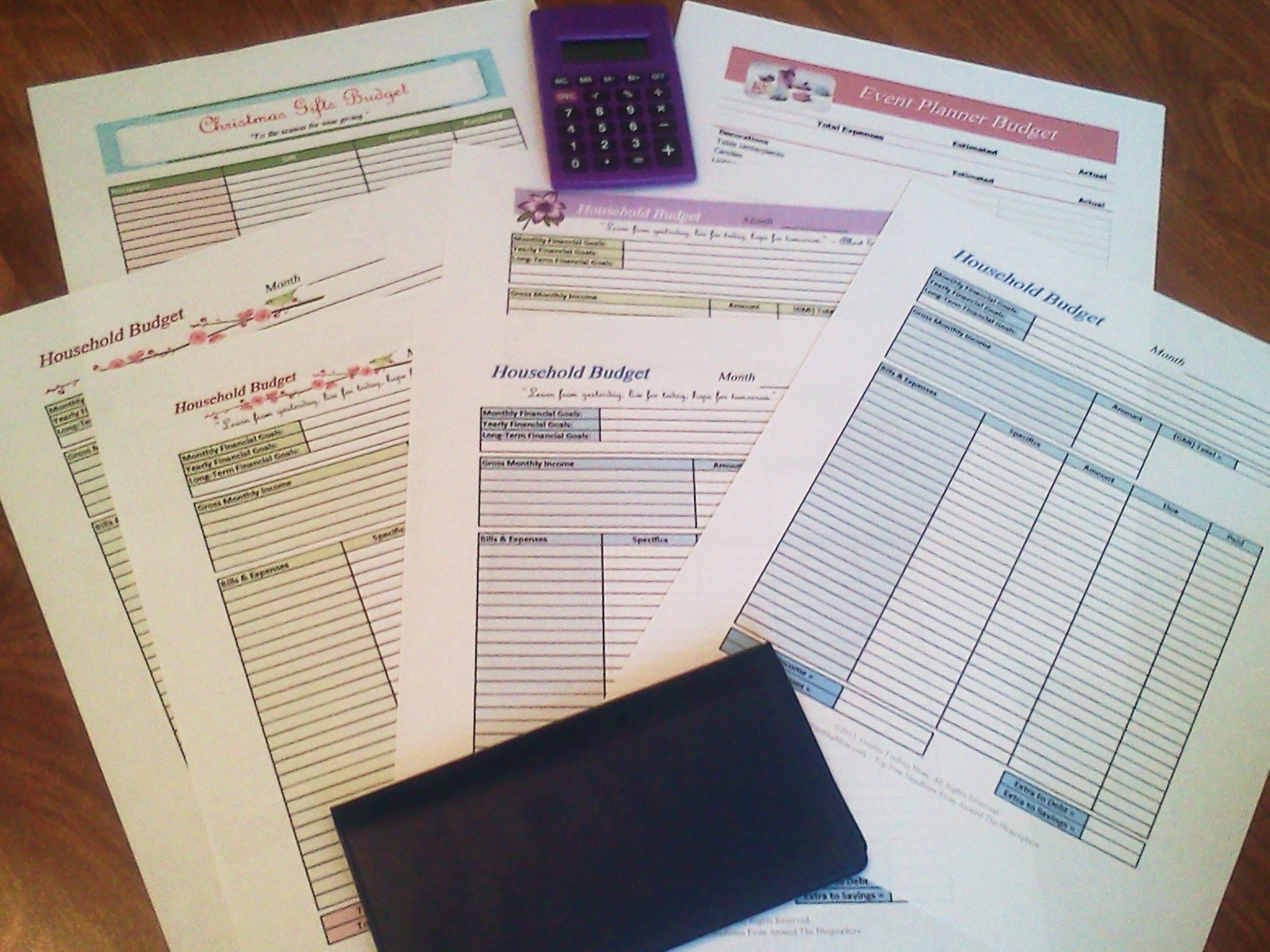 Free Printable Budget Worksheets - Free Online Printable Budget Worksheet
