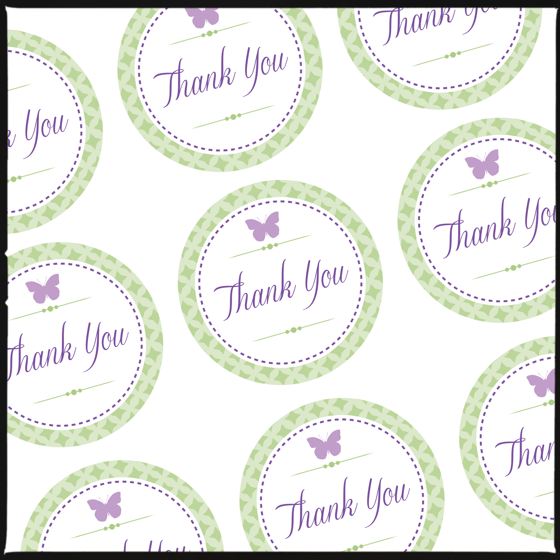 Free Printable Butterfly Thank You Tags - 20.6.kaartenstemp.nl • - Free Printable Thank You Tags
