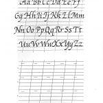 Free Printable Calligraphy Alphabet Practice Sheets | Scrapbooking   Free Printable Calligraphy Worksheets