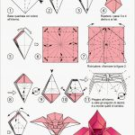 Free Printable Cards 2018: Free Printable Origami Rose | Origami   Printable Origami Instructions Free